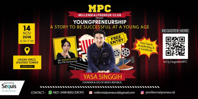 YOUNGPRENEURSHIP : A Story To Be Successful At A Young Age